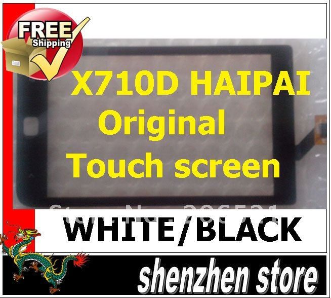 HAIPAI X710D Original Touch screen panel replacement repair mobile phone 2012 free shipping Airmail + Tracking Code(China (Mainland))