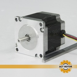 Free shipping to RU.3axis CNC nema 23 160oz-in 3A 56mm 4lead stepper motor for engraving machine(China (Mainland))