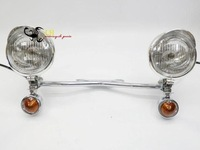 Chrome Turn Signal Spotlight for  Electra Glide Touring Ultra Softail