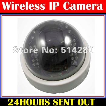 High Speed Dome IP Camera,H.264 video compression,controled by Smartphone with wirless,with SONY 1/3 CCD.China post freeshipping