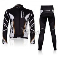 new free shipping look   bike bicycle cycling wear  Cycling Jersey  thin Long Sleeve and  pants suit