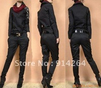 [1735]2012 spring new hot sell ladies' fashion trousers Women's brand pants trouser Wholesale &Retail Size S/M/L/XL