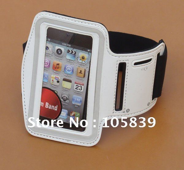 Solf Belt Sport Armband for iPhone 4S Arm Band Travel Accessory for iPhone 4 3G 3GS iPod itouch Video 5pcs free shipping(China (Mainland))