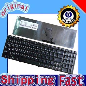 Laptop Keyboard for Original NEW IBM Lenovo Ideapad G560 G565 keyboard RU/Russian black +Free shipping (K1861)