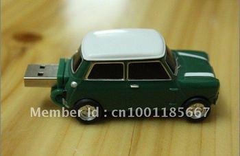 Hot!!!!8GB New USB Memory Stick Flash Pen Drive green  Mini Car  N9004