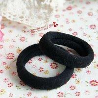 60pcs/lot.Solid high elastic/high quality headbands/Elastic hairband/Hair accessories/Headwear.Black.High quality.ZP02M60