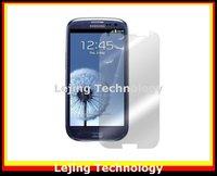 free shipping 20pcs/lot clear screen protector for SAMSUNG Galaxy S3 I9300 GALAXY SIII screen protective film, screen guard