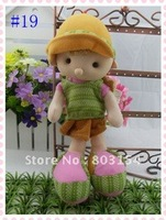 Best-selling 8inch plush hat baby doll boy girl kids toys Christmas gifts 21 style 10PCS/LOT Free shipping
