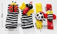 Free shipping L ring for wrist band socks feet set