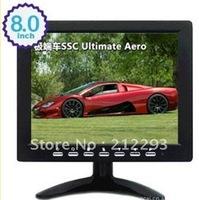 "2012 new!  8""  tv monitor lcd  with BNC/VGA/TV  in ,LED backlight monitor"