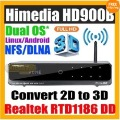 Freeshipping Genuine Himedia HD900B 3D Full HD 1080p HDMI 1.4 Blu-Ray ISO Media Player Realtek 1186(China (Mainland))