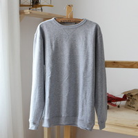 2012 lovers design 100% cotton long-sleeve o-neck sweatshirt outerwear plus size w1902