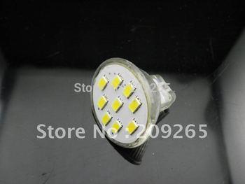 MR11 2.7W 9 LED 5630 Warm White Cool White led Lamp 12V #875