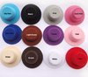 5.5cm 24pcs/lot Free Shipping Hen Party Plain Mini Top Hat. Cute Hat for DIY hair clip. 12 colors
