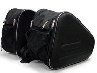 Motorcycle Sport Bike Saddlebags Bag Travel Luggage SET