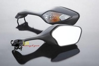 motorcycle parts For Hond a CBR 1000 RR 2008 2009 2010 Black Side Mirrors