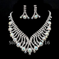 Free Shipping Fashion Wedding Jewelry Set Bridal Accessories