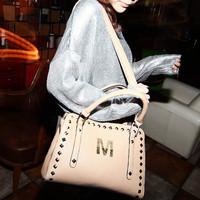 2012 rivet shoulder bag handbag messenger bag Limited On Sale!