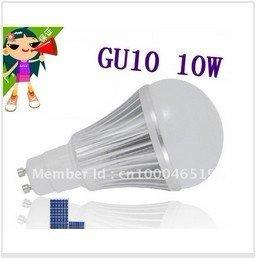 DHL FREE Dimmable CREE High power GU10 E27 LED Light Bulb Globe Lamp VS 5W 6W 7W 9W 10W AC 100V-220V