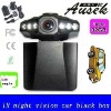 Free shipping 198F 2.5inch lcd 120 wide view HD720 night vision car dvr motion