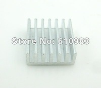 Free shipping (50 pieces/lot) 15x14x6mm(L*W*H) Aluminum Heat Sink IC Radiator