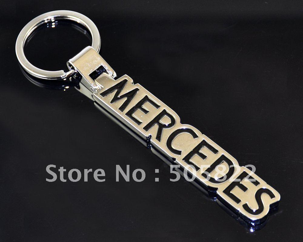 metal Car Keychain keyring key holder tag car key accessories with car