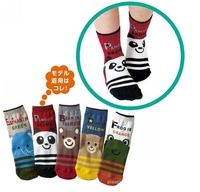 girls boys children cartoon socks straight socks fit 1-3yrs baby kids non-slip socks 25 pairs/lot 5 style free shipping