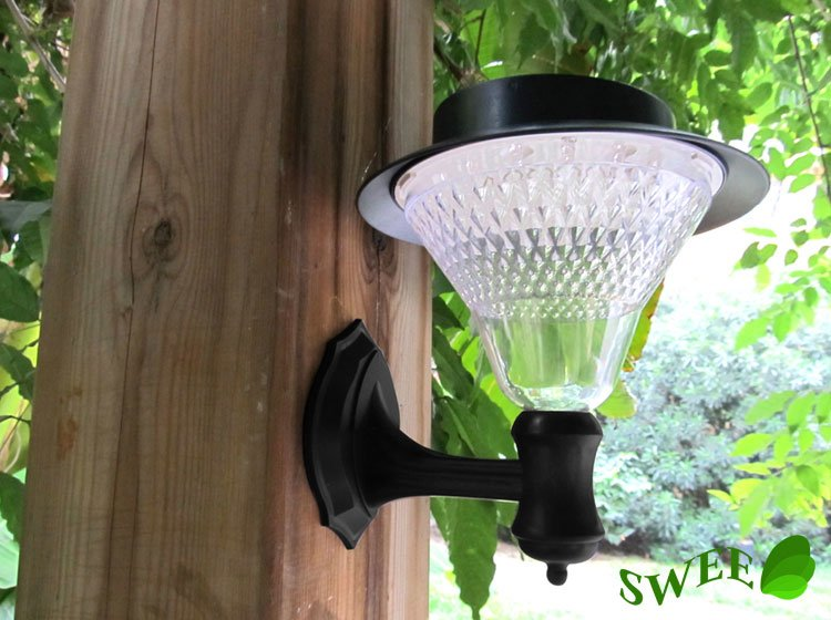 Solar Lamp 16 LEDs Outdoor Wall Lights Solar Garden light, Garden Decorations Solar Lighting(China (Mainland))