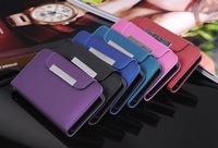 New Arrival Wallet Flip Leather Case Lanyard Cover for iPhone 5 5G-Free shipping