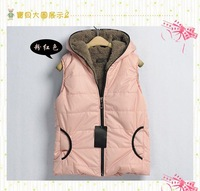 hot sale 2013 autumn and winter new arrival fashion women fur vests women waistcoats