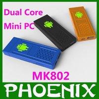 Мини ПК google tv box 1 DDR3 RAM 4GB ROM Allwinner BOXchip A10 android4.0 IPTV /mk802 tv box