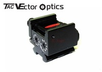 Wholesales-9pcs Vector Optics Sparker Pistol Micro Red Dot Laser Sight with Picaitinny Rail for Real & Airsoft Use