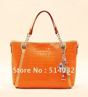 2012 New Arrival Factory Direct Selling Free Shipping Shoulder Handbags 2012/High Grade Imported PU Women Handbag/ 1 Pcs/Lot