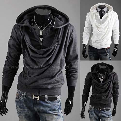 designer mens jacket men fashion clothes casual overcoat pure color