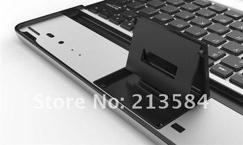 8.5mm Ultra Thin Aluminium Wireless Bluetooth Keyboard for New ipad 3 FREE SHIPPING