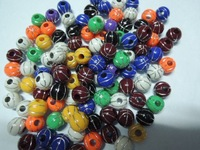 Top Sale Stock!! Cheapest Fashion 12MM 550PCS A Lot Basketball Acrylic Beads Fashion, Loose Acrylic Beads Free Shipping!!