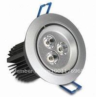 3x1W High Power LED Downlights
