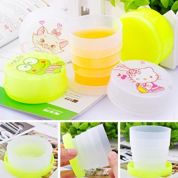 Hot-selling cartoon retractable cup folding cup portable outdoor cqua c850