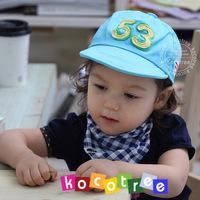 Kocotree 53 baseball cap fashion baby comfortable cotton cloth sunbonnet 00129