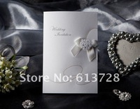 Free shipping,  wedding invitation card,W1119, Wedding favor gifts , free customized printing