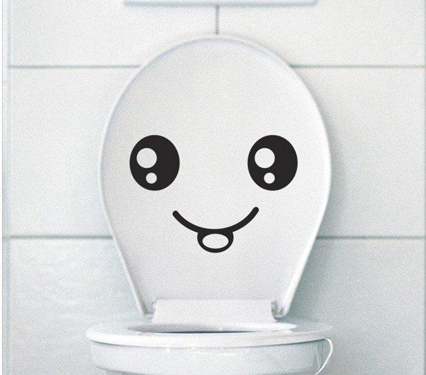 20170408&122538_Foto Sticker Badkamer ~   wc sticker muurschildering art decor sticker badkamer grappige gift