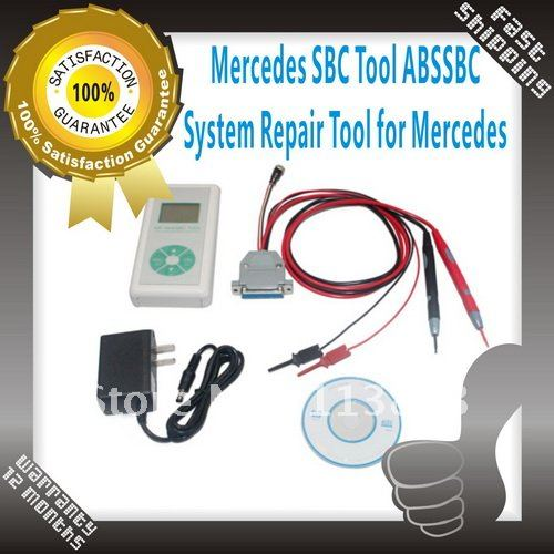 2012 new! Mercedes SBC Tool ABS/SBC can check and diagnose system in Mercedes Benz&#39;s W211 and R230 ,factory SBC(China (Mainland))