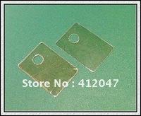 TO-220 mica sheets / insulation sheet  / Transistor Silicon Insulator  Free Shipping  100PCS
