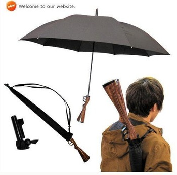 DHL Free Shipping 10pcs/lot New Novelty Rifle Umbrella Gun Umbrella 100cm Big size