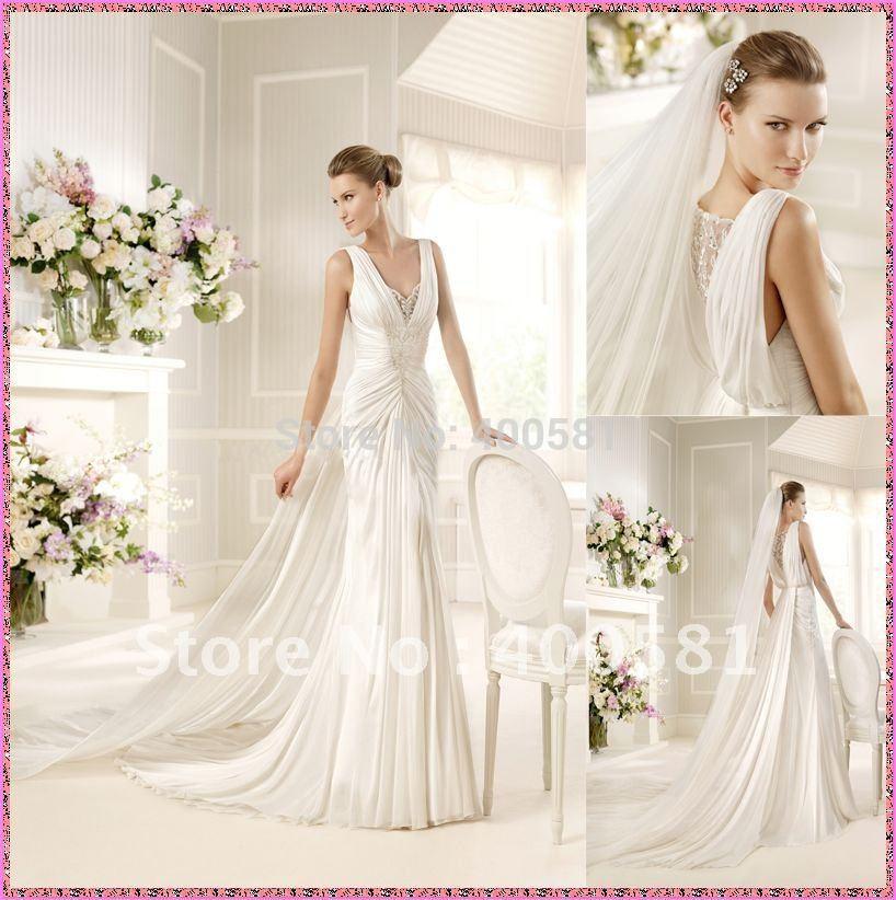 Wedding Dresses With Detachable Trains