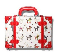 Restore ancient ways fashion red cartoon hand cosmetic box 2012 new