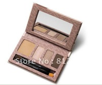 Wholesale 100% Guarantee NEW ARRIVAL  beautiful big eyes Concealer+ eyebrow +eye shadow +makeup base kit 6pcs/lot Free shipping