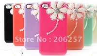 for iphone 4 case Pearl Rhinestone Daisy case for iphone4S