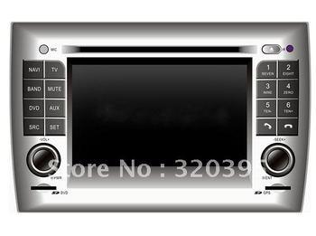 Professional sale 2005-2010 year Fiat Stilo dvd,Car Video player,2 DIN 8.0 inch Digital screen/DVD/BT/TV/FM/IPOD/RDS/GPS/CANBUS