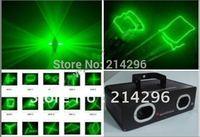2014 New Arrival Special Offer Dmx Stage Light Led Moving Head Dj Light Dmx Factory Outlet 50mw Green Double Eyes Dj Laser Light